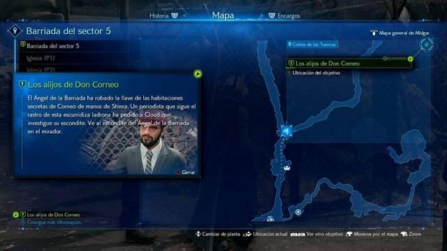 Los alijos de Don Corneo en Final Fantasy VII Remake - Cómo completarla