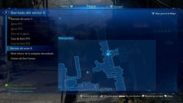 El hombre de la ametralladora en Final Fantasy VII Remake - Cómo completarla
