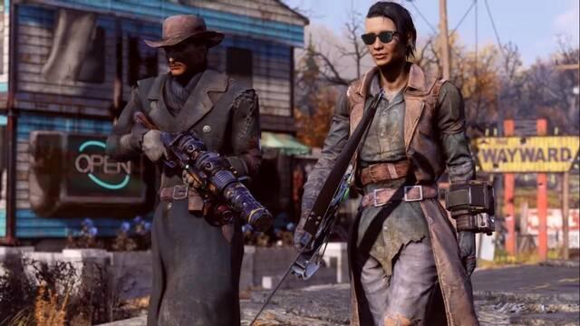Fallout 76: Wastelanders saldrá (ahora sí) el 14 de abril.