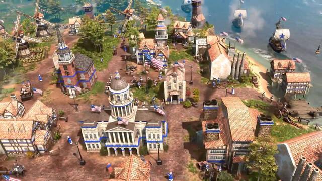 Age of Empires 3 civilización Estados Unidos