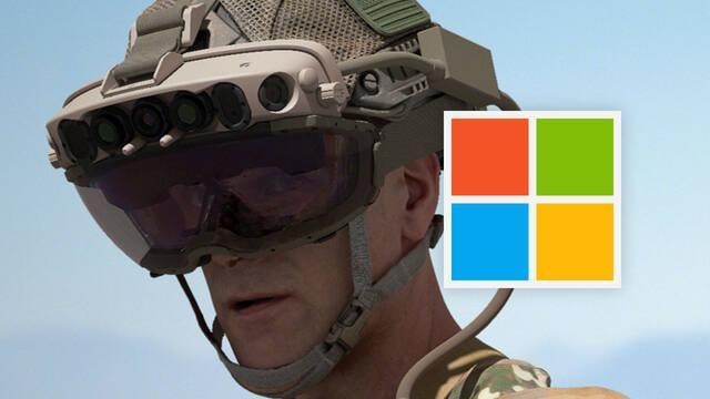 El ejército de Estados Unidos compra 120.000 HoloLens a Microsoft.