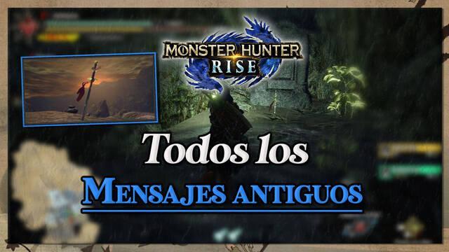 Monster Hunter Rise: Todos los mensajes antiguos - Localización