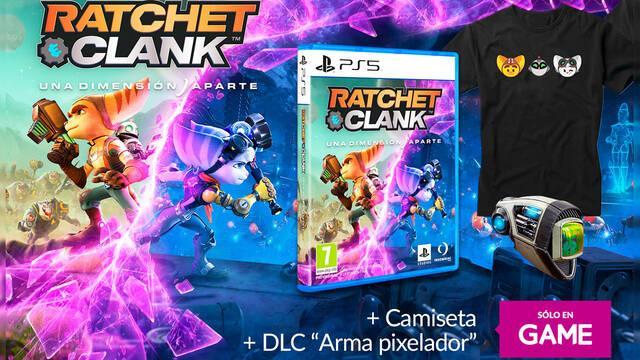 GAME España anuncia los incentivos por reserva de Ratchet & Clank: Una Dimensión Aparte