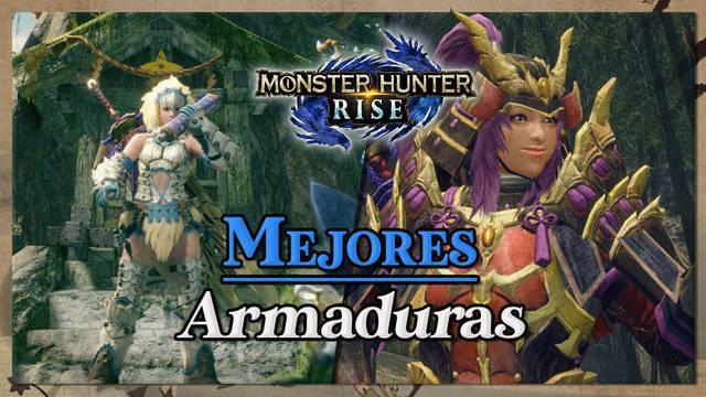 Monster Hunter Rise: Las mejores armaduras y cuál elegir para ti