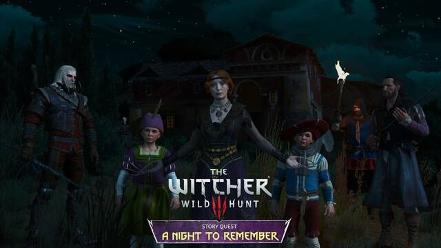 The Witcher 3: A night to remember misión mod