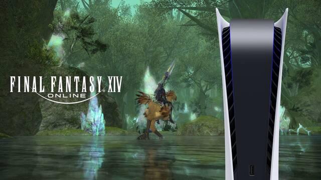 Final Fantasy XIV Online arrancará su beta abierta mañana en PS5.