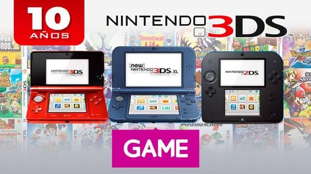 GAME España y los 10 años de Nintendo 3DS