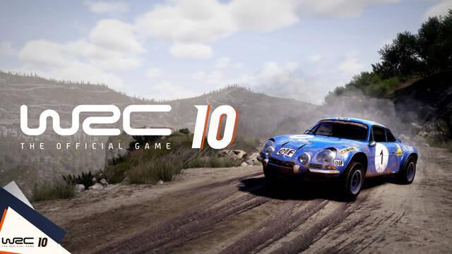 WRC 10 anunciado para el 2 de septiembre.