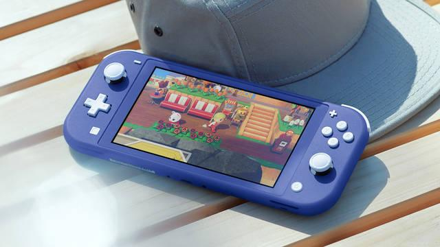 La nueva Nintendo Switch Lite azul llega a España el 7 de mayo.