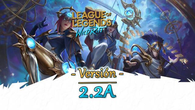 LoL Wild Rift v2.2a: Rammus, nuevo contenido, cambios y novedades