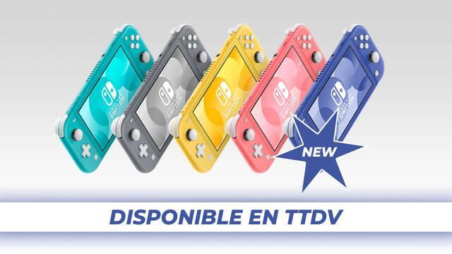 Nintendo Switch Lite azul Tu Tienda de Videojuegos