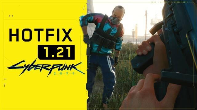 Parche 1.21 de Cyberpunk 2077 ya disponible.