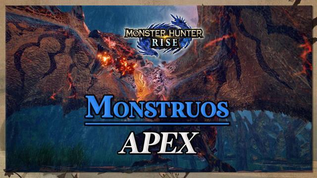 Monstruos Apex en Monster Hunter Rise: Cómo derrotarlos y características