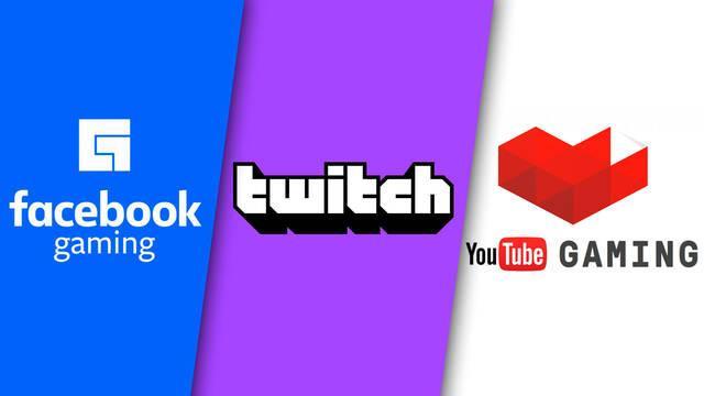 Twitch incrementa su distancia con el resto de servicios de streaming