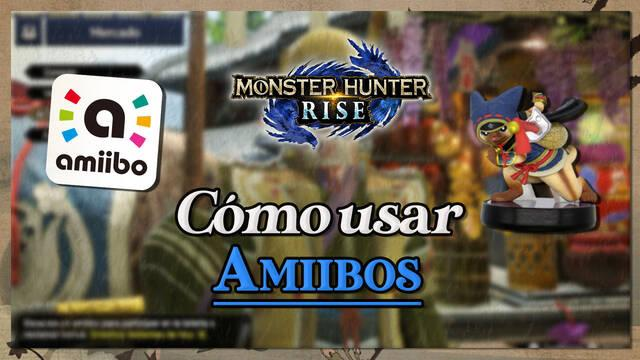 Monster Hunter Rise: escanear Amiboos y conseguir recompensas