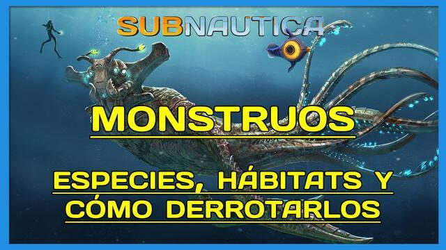 TODOS los monstruos de Subnautica y dónde encontrarlos