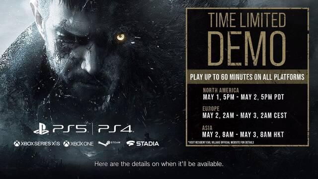 Resident Evil 8 fecha de la demo