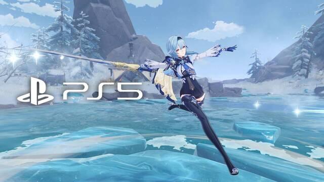 Genshin Impact confirma su fecha de lanzamiento en PS5.