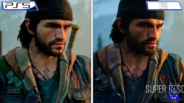 Days Gone comparativa PC PS5