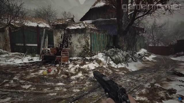 Resident Evil 8 village gameplay aldea