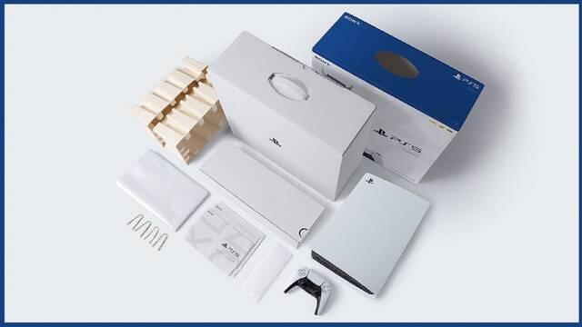 PS5 PS4 cajas reciclados