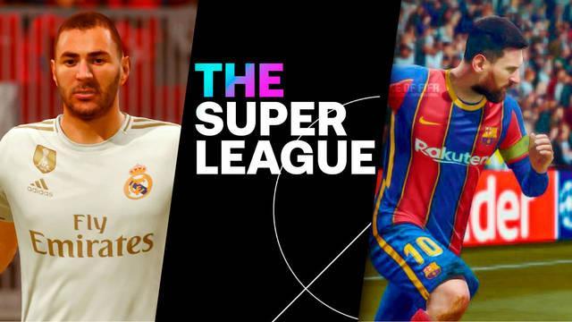La Superliga es oficial, una nueva competición que podría revolucionar a FIFA y eFootball