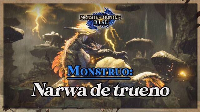 Narwa de trueno en Monster Hunter Rise: cómo cazarlo y recompensas