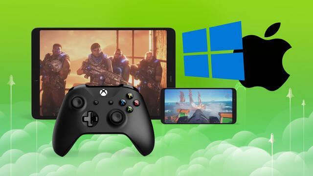 iOS y PC recibirán el juego en la nube de Xbox Game Pass este mes.