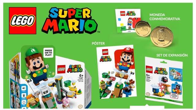 Ya se puede reservar LEGO Super Mario - Luigi en GAME.