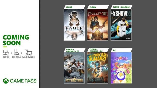 Novedades de abril en Xbox Game Pass.