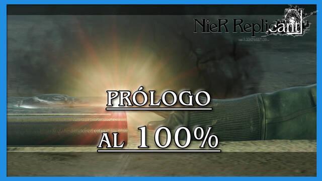 NieR Replicant: Prólogo al 100%