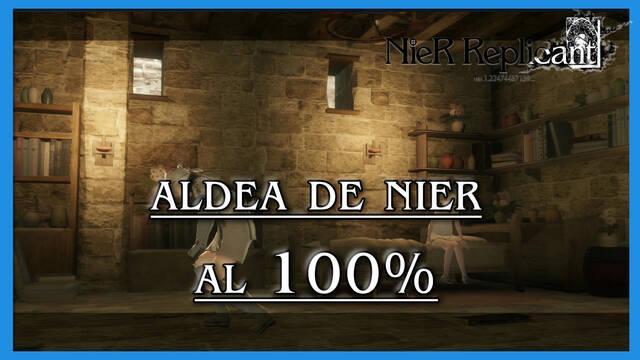 NieR Replicant: Aldea de Nier al 100%