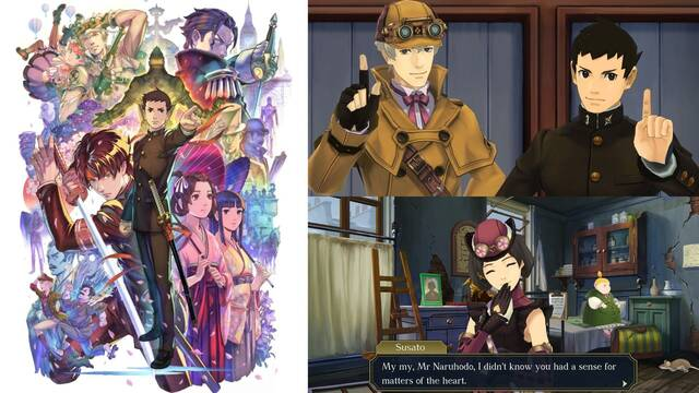 Anuncio The Great Ace Attorney Chronicles