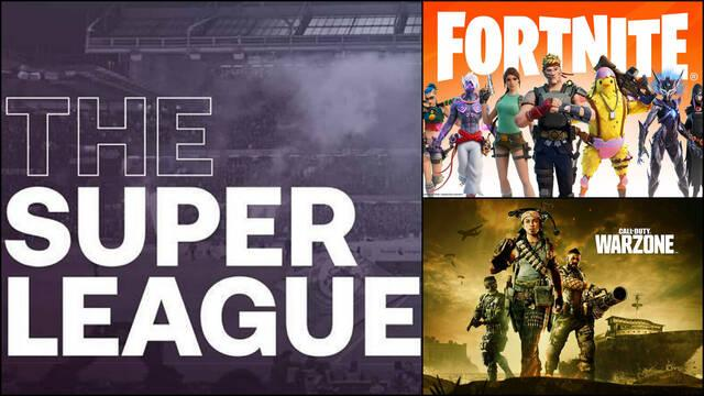 Superliga Fortnite Call of Duty