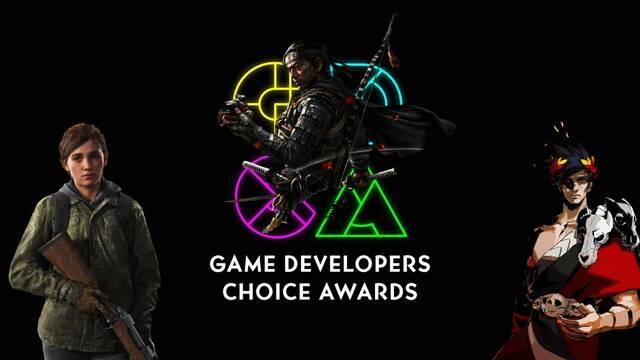 Lista de nominados en los Game Devolpers Choice Awards