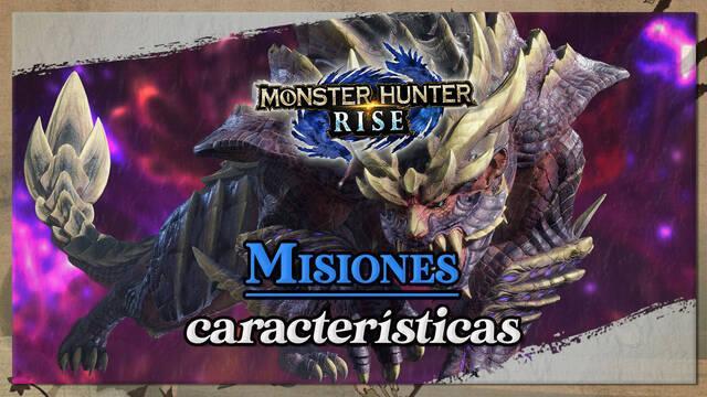 Misiones en Monster Hunter Rise: Tipos, características y diferencias