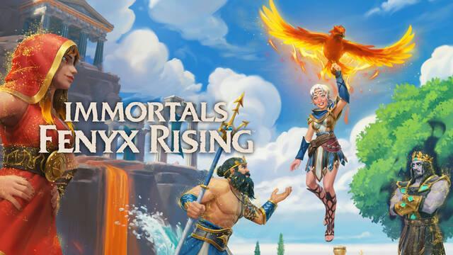 Immortals Fenyx Rising: Dioses Perdidos, su nuevo DLC, ya disponible.
