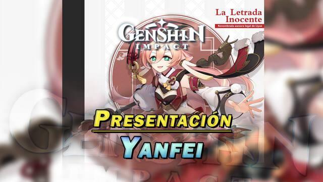 Genshin Impact presenta a Yanfei; vídeo y características del nuevo personaje