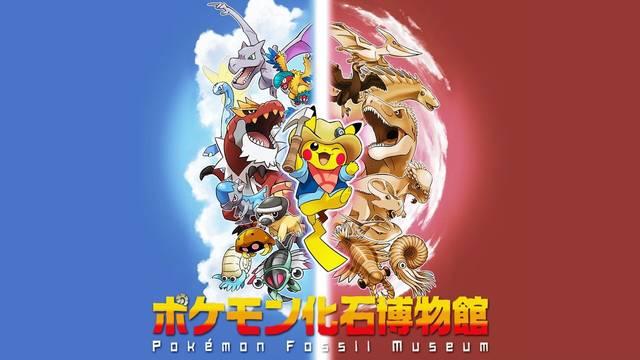El Museo del Fósil Pokémon abre sus puertas en verano