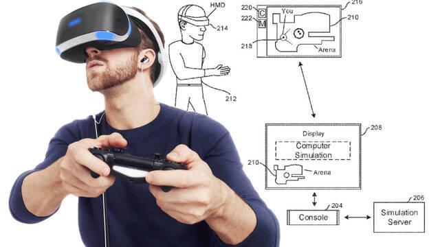 Nueva patente de Sony con torneos eSport en VR.