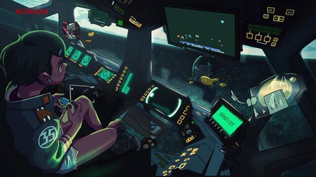 Gradius Código Konami lo-fi hip-hop BSO