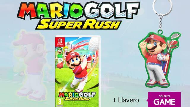 Ya se puede reservar Mario Golf Super Rush en GAME.