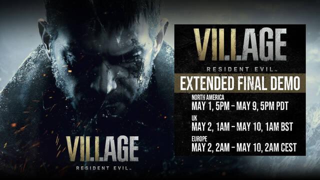 La demo definitiva de Resident Evil 8: Village se podrá jugar finalmente durante una semana.