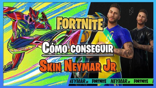 Neymar Jr llega a Fortnite