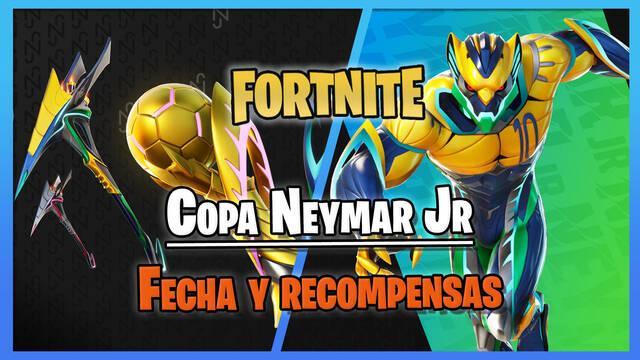 Copa Neymar Jr en Fortnite: fechas, recompensas gratis y cómo participar