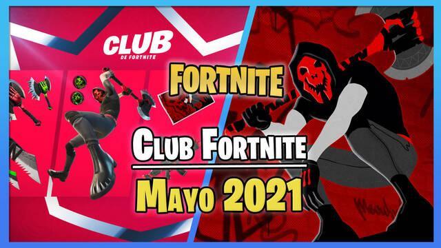 Fortnite: Skin de Deimos y novedades del Club Fortnite en mayo 2021