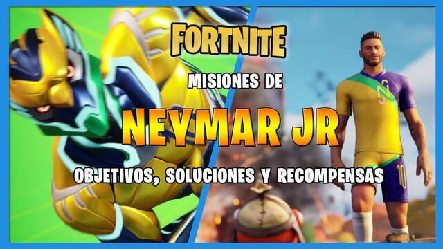 Fortnite: misiones de Neymar Jr y cómo completarlas