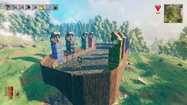 Construyen Hogwarts en Valheim