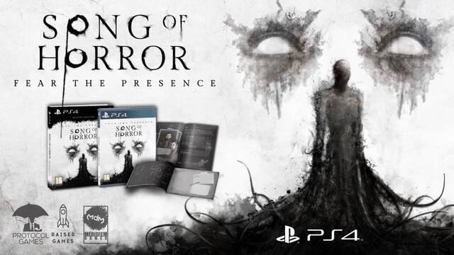 Song of Horror tendrá edición física en PS4 este verano.