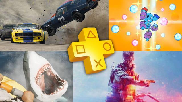Juegos de mayo  de 2021 en PS Plus para PS4 y PS5.
